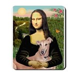 Mona Lisa / Greyhound #1 Mousepad