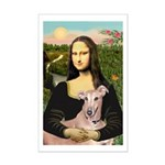 Mona Lisa / Greyhound #1 Mini Poster Print