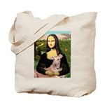 Mona Lisa / Greyhound #1 Tote Bag