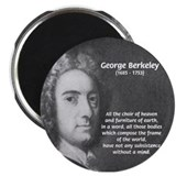 "Irish Idealist: George Berkeley 2.25"" Magnet (100"