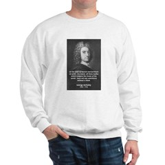 Irish Idealist: George Berkeley Sweatshirt