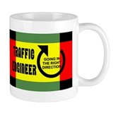 Traffic Engineer Direction Mug