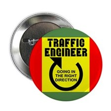 "Traffic Engineer Direction 2.25"" Button (10 pack)"