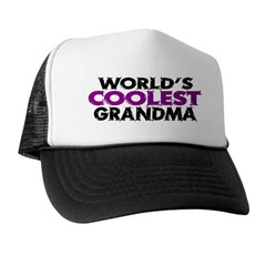 World's Coolest Grandma Trucker Hat