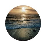 Big Sur Sunset Ornament (Round)