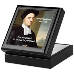 Philosopher: George Berkeley Keepsake Box
