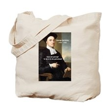 Philosopher: George Berkeley Tote Bag