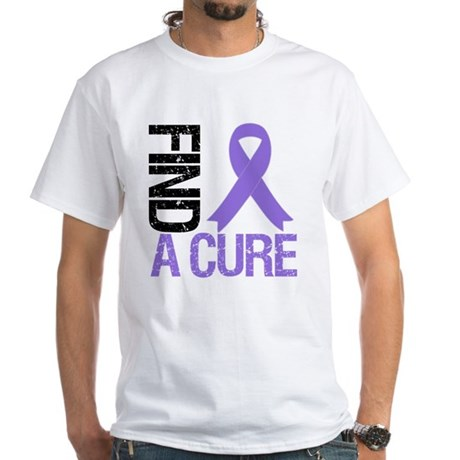 Hodgkin's Find a Cure White T-Shirt
