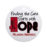 HOPE Melanoma 4 Ornament (Round)
