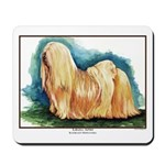 Lhasa Apso Painting Mousepad