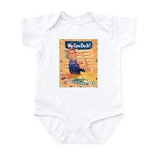 Rosie the Riveter Infant Bodysuit