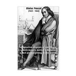 Mathematics: Blaise Pascal Mini Poster Print