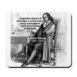 Mathematics: Blaise Pascal Mousepad 