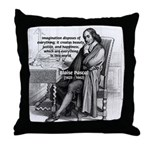 Mathematics: Blaise Pascal Throw Pillow