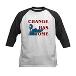 Change Has Come Kids Baseball Jersey