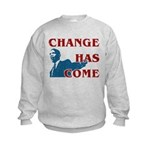 Change Has Come Kids Sweatshirt