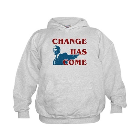 Change Has Come Kids Hoodie