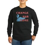 Change Has Come Long Sleeve Dark T-Shirt