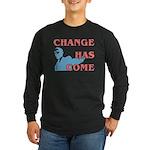 Change Has Come Long Sleeve Dark T-Shirt