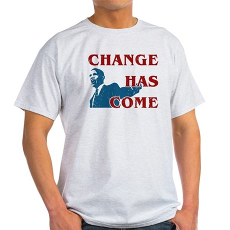 Change Has Come Light T-Shirt