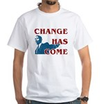 Change Has Come White T-Shirt
