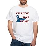 Change Has Come White T-Shirt