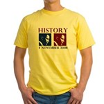 History 11-4-2008 Yellow T-Shirt
