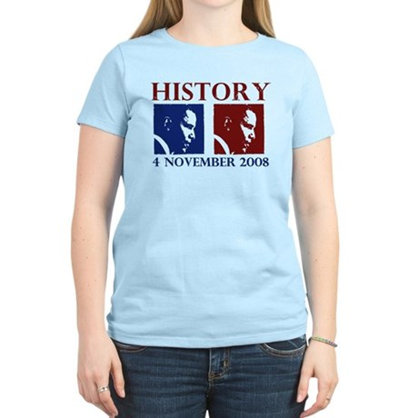 History 11-4-2008 Women's Light T-Shirt
