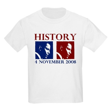 History 11-4-2008 Kids Light T-Shirt