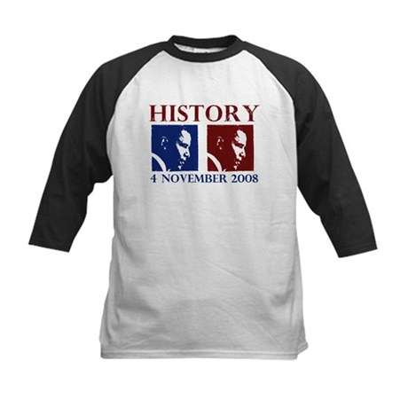 History 11-4-2008 Kids Baseball Jersey