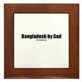 Bangladesh by God (TM) Framed Tile