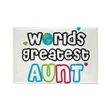 Cute Aunt Rectangle Magnet