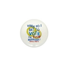 Prop 8 - Your Marriage Mini Button (10 pack)