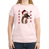 Brindle Santa Paws T-Shirt