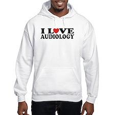 I Love Audiology Hoodie