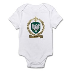 THEBAU Family Crest Infant Creeper