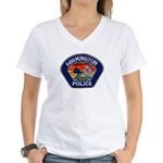 Farmington Police Women's V-Neck T-Shirt