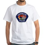Farmington Police White T-Shirt