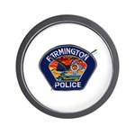 Farmington Police Wall Clock