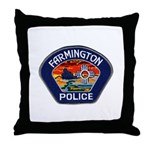 Farmington Police Throw Pillow