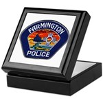 Farmington Police Keepsake Box