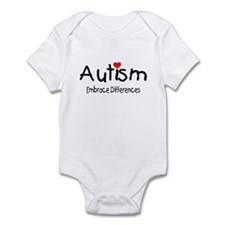 Autism, Embrace Differences Infant Bodysuit