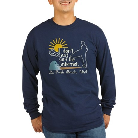 La Push Beach Long Sleeve Dark T-Shirt