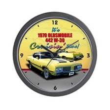 1970 Olds 442 Wall Clock