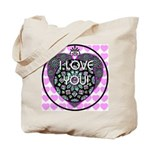 I LOVE YOU! Tote Bag