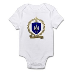 TEMPLE Family Crest Infant Creeper