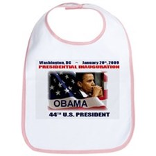 Cute Obama for president Bib