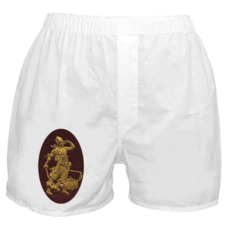 Gold Leaf Pirate Boxer Shorts