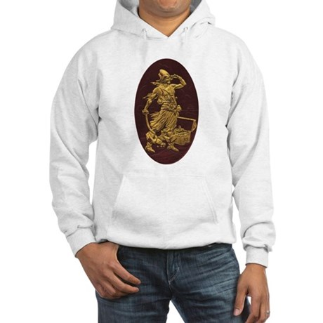Gold Leaf Pirate Hooded Sweatshirt