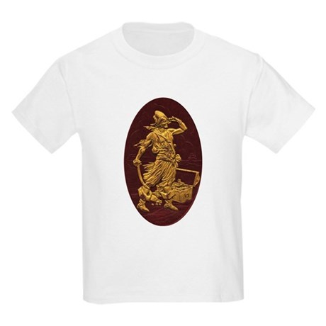 Gold Leaf Pirate Kids T-Shirt